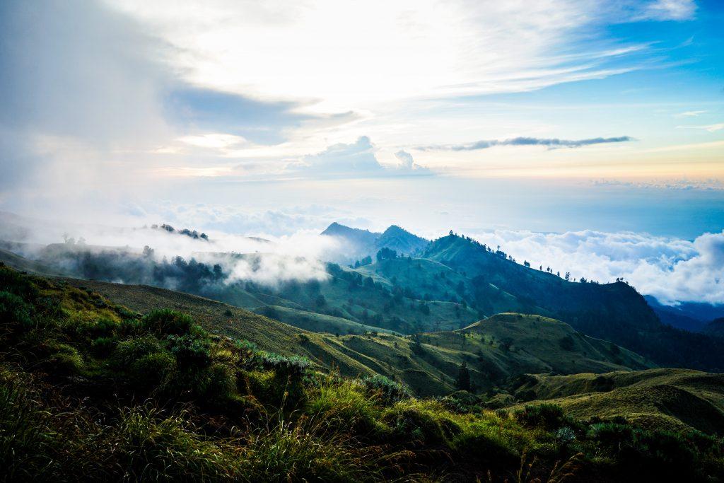 Mt Rinjani Volcano View