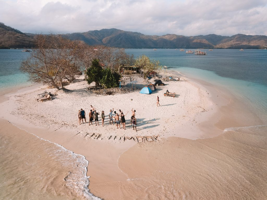 Gili Islands in south West Lombok camping trip