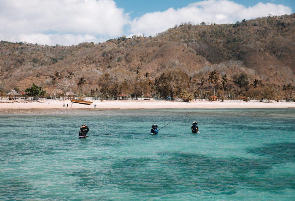fishing in lombok