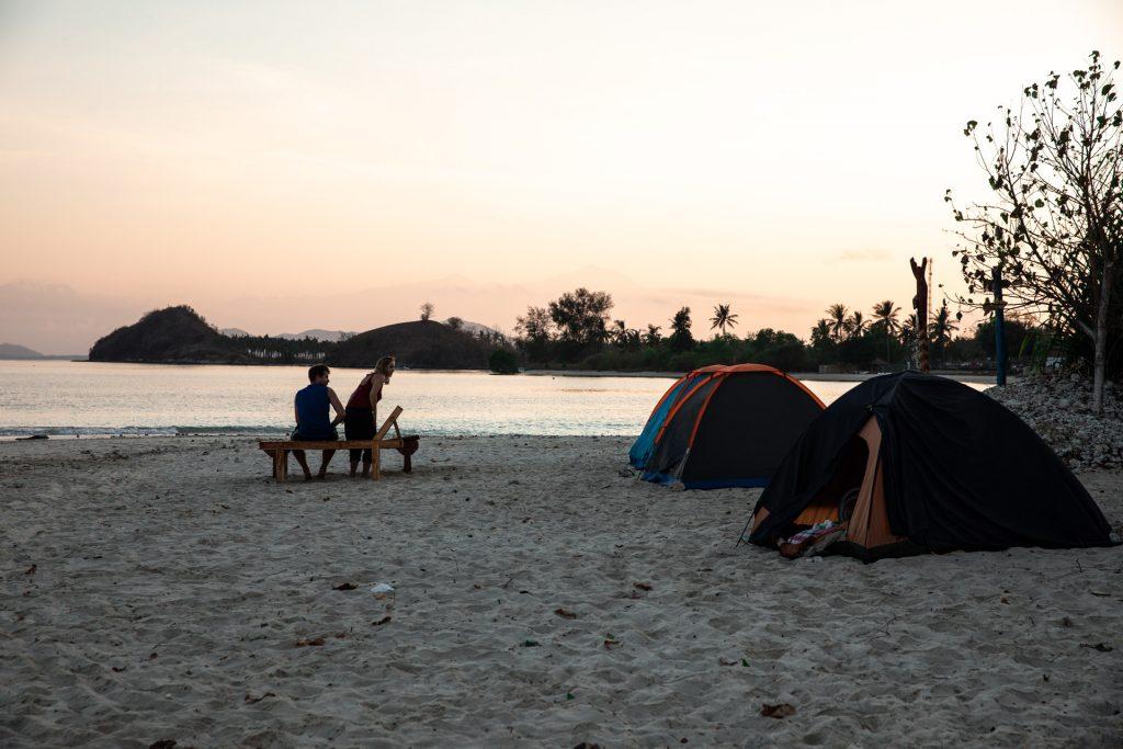 Gili Islands camping