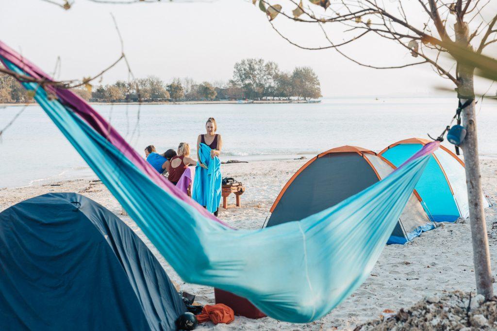 Lombok island camping trip