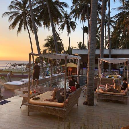 beach club Senggigi