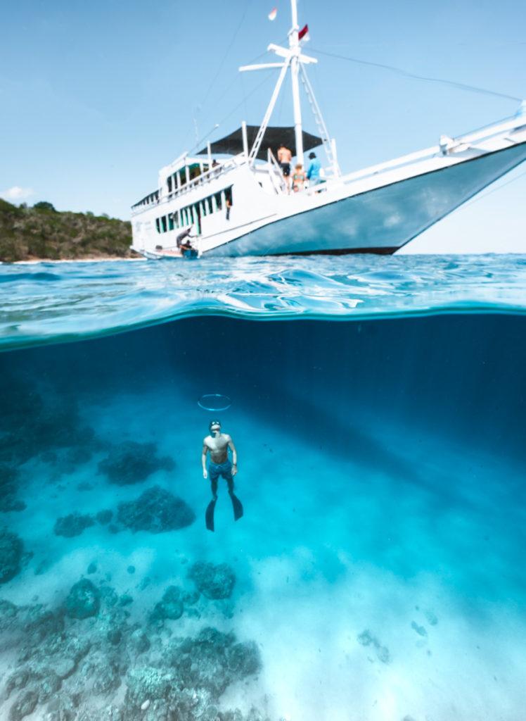 Flores boat trip