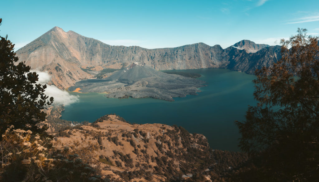 Segara Anak Rinjani Volcano Lake