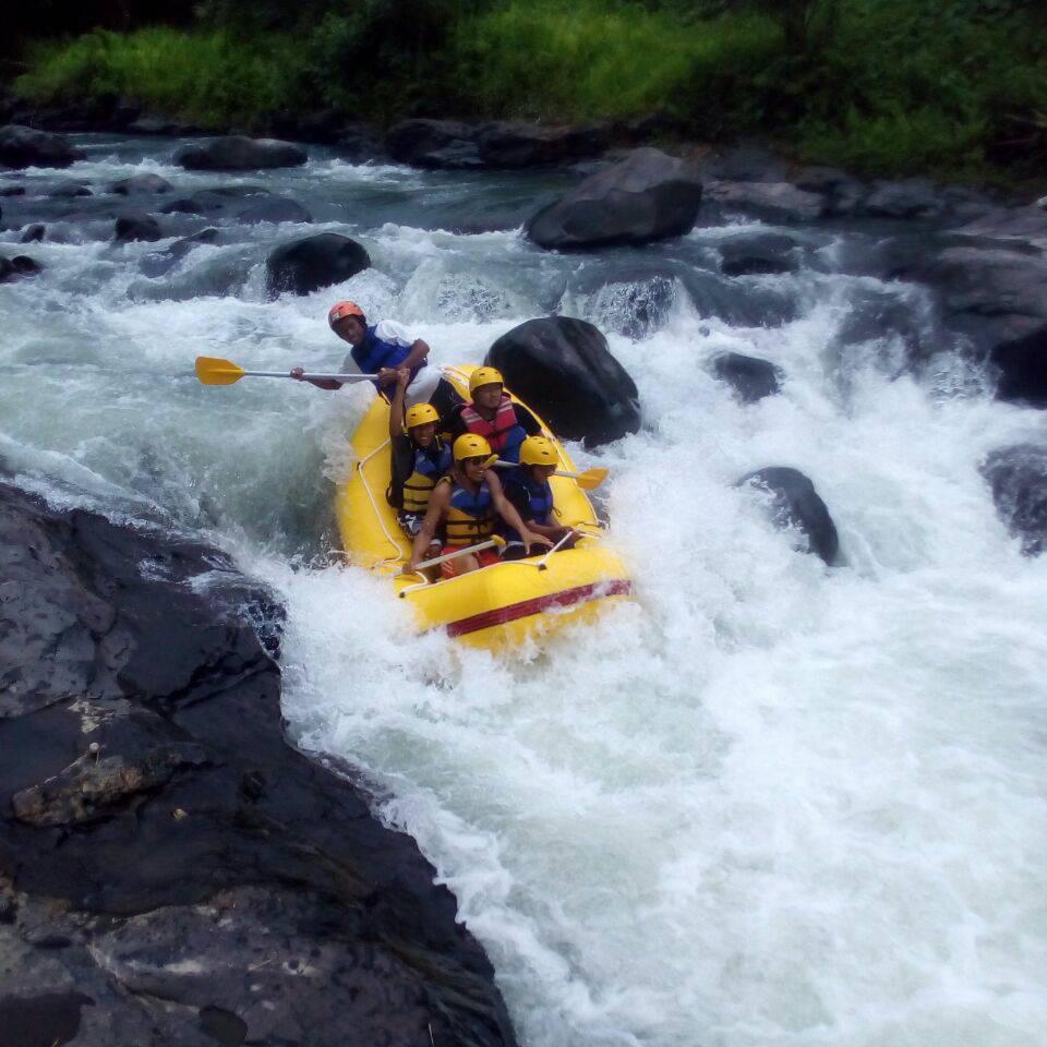 Rafting in Lombok