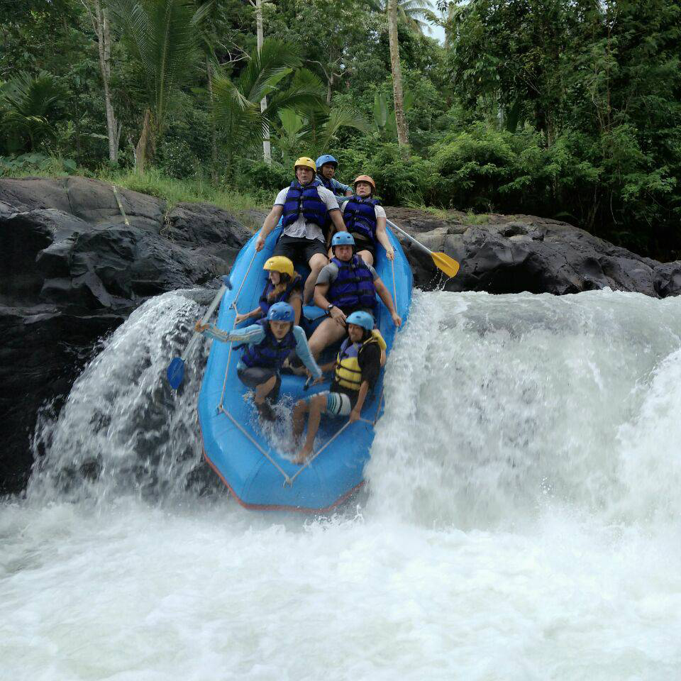 white water rafting in lombok